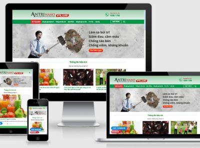 Fullcode website công ty dược phẩm FC029 18