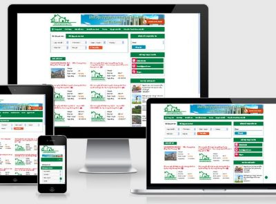 Fullcode website bất động sản FC036 3