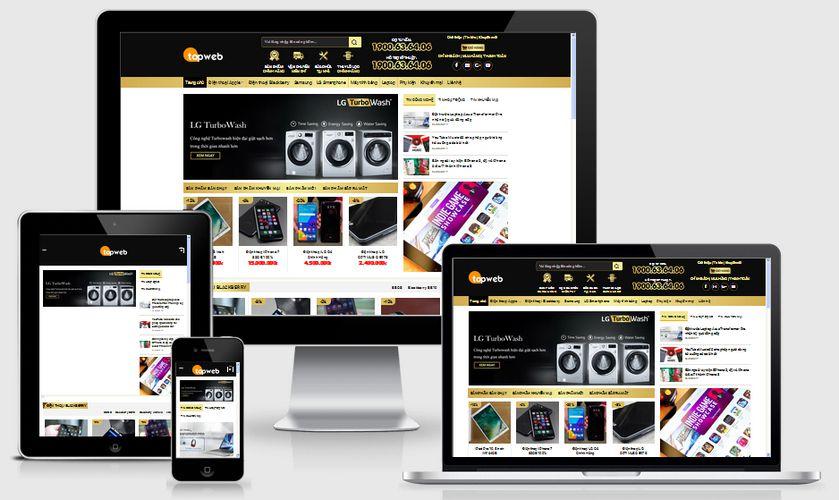 Fullcode website bán điện máy FC084 1