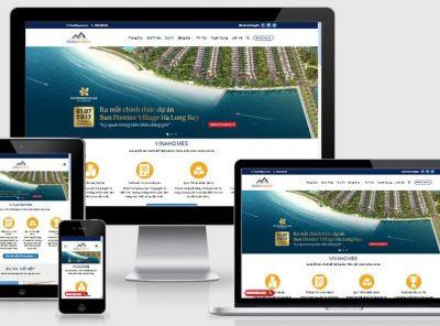 Fullcode website dự án nhà đất FC040 2