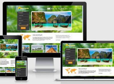 Fullcode website du lịch chuẩn seo FC042 9
