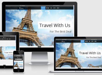 Fullcode website du lịch chuẩn seo FC043 4