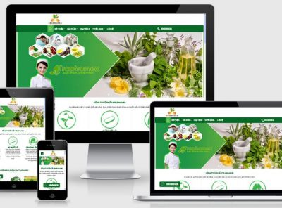 Fullcode website công ty dược phẩm FC073 27