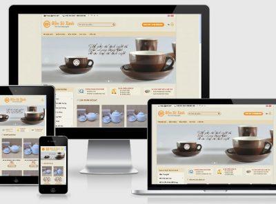 Fullcode website bán hàng gốm sứ FC031 2