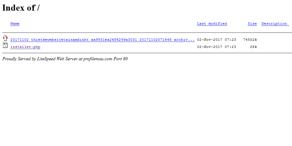 Hướng dẫn cài đặt website bằng Duplicator 10