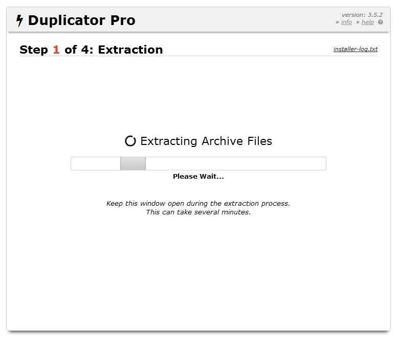 Hướng dẫn cài đặt website bằng Duplicator 12