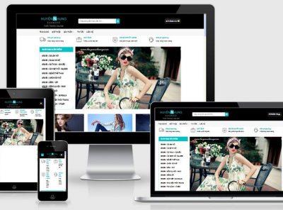 Fullcode website bán hàng thời trang nữ FC074 4