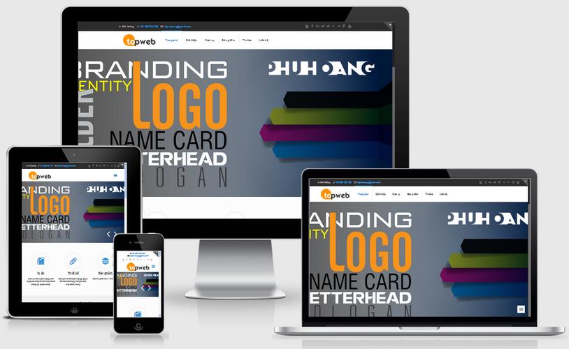 Fullcode website in ấn quảng cáo FC014 1