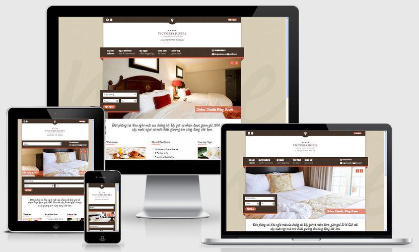 Fullcode website khách sạn đẹp FC045 1