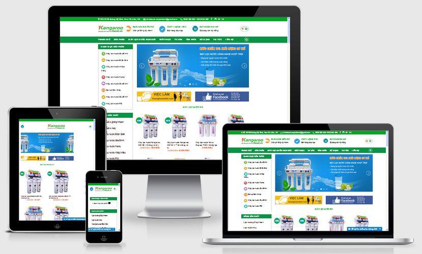 Fullcode website bán máy lọc nước FC028 1