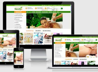 Fullcode website bán hàng mỹ phẩm FC034 4