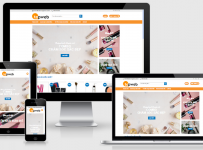 Fullcode website bán hàng mỹ phẩm FC001 2