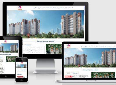 Fullcode website nhà đất đẹp FC060 30