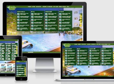 Fullcode website nhà đất đẹp FC052 5