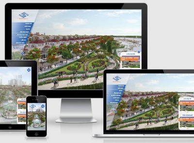 Fullcode website bất động sản đẹp FC053 2
