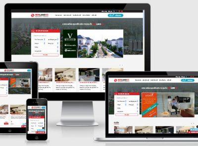 Fullcode website bất động sản đẹp FC054 4