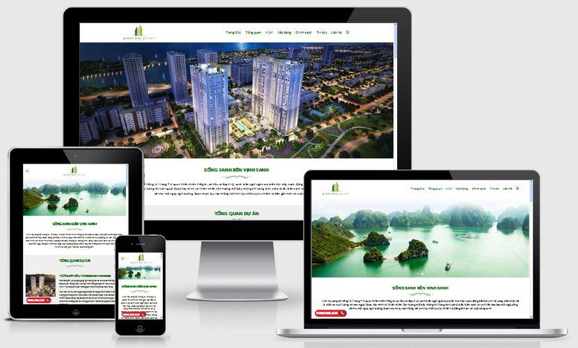 Fullcode website nhà đất đẹp FC057 1