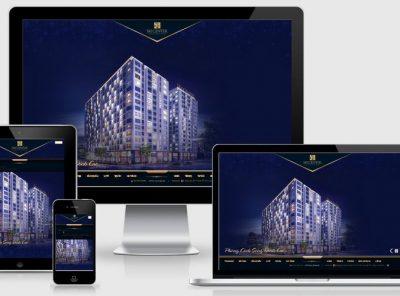 Fullcode website nhà đất đẹp FC058 2