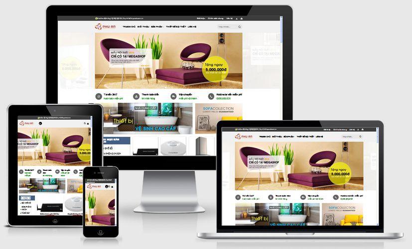 Fullcode website bán hàng nội thất FC075 1