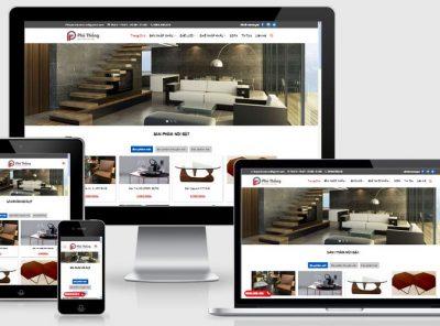 Fullcode website bán hàng nội thất FC076 10