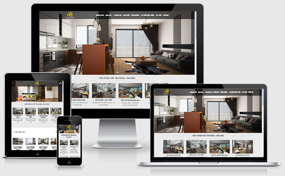 Fullcode website thiết kế nội thất FC021 1