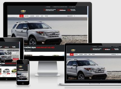 Fullcode website ô tô xe hơi FC062 5