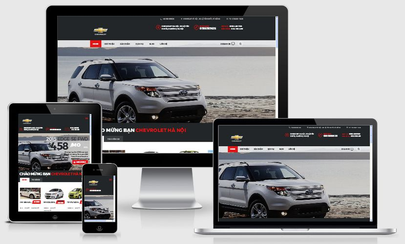 Fullcode website ô tô xe hơi FC062 1