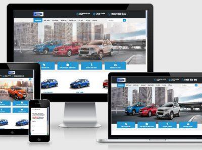 Fullcode website ô tô xe hơi FC064 3