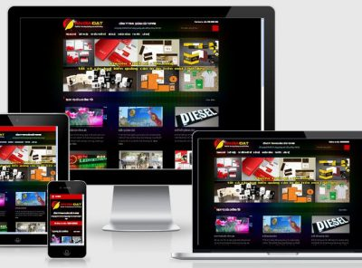 Fullcode website công ty quảng cáo FC085 7