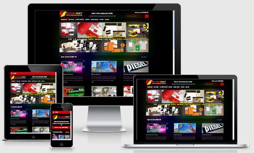 Fullcode website công ty quảng cáo FC085 1