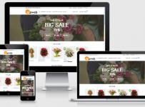 Fullcode website bán hàng hoa FC016 8