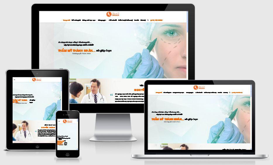 Fullcode website Spa làm đẹp FC026 1