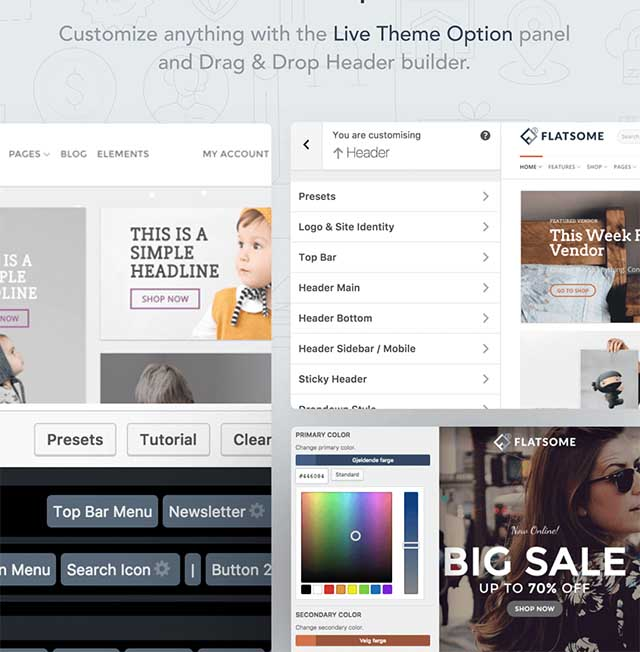 Flatsome – Theme WordPress bán hàng Tiếng Việt tốt nhất 6