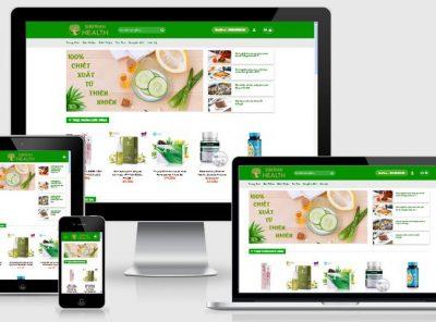 Fullcode website thực phẩm chức năng FC032 3