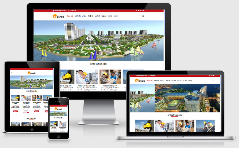 Fullcode website thiết kế xây dựng FC025 1