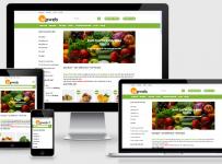 Fullcode website bán hàng thực phẩm FC018 4