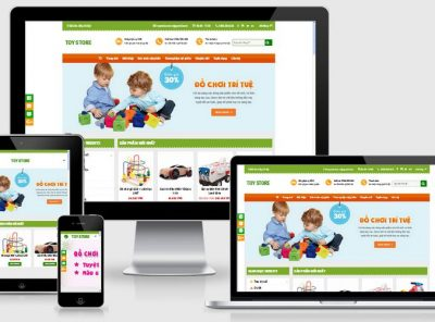 Fullcode website đồ chơi trẻ em FC080 4