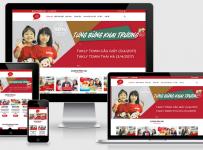 Fullcode website trung tâm anh ngữ FC012 6