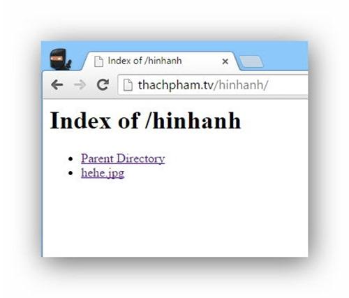 Quản lý tập tin/thư mục trên host dùng cPanel 13