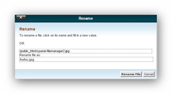 Quản lý tập tin/thư mục trên host dùng cPanel 15