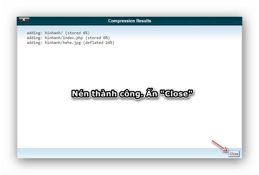 Quản lý tập tin/thư mục trên host dùng cPanel 18