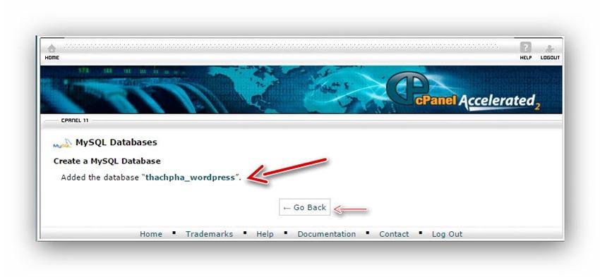 Cách tạo database trên host dùng cPanel 4