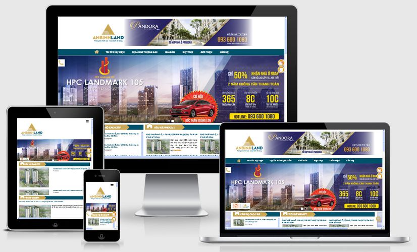 Fullcode website bất động sản FC088 1