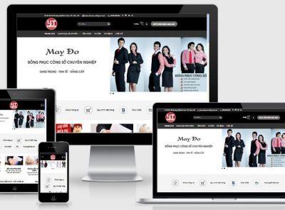 Fullcode website bán đồng phục FC105 12