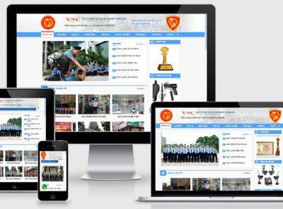 Fullcode website dịch vụ bảo vệ FC118 29