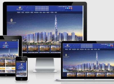 Fullcode website bất động sản FC089 2
