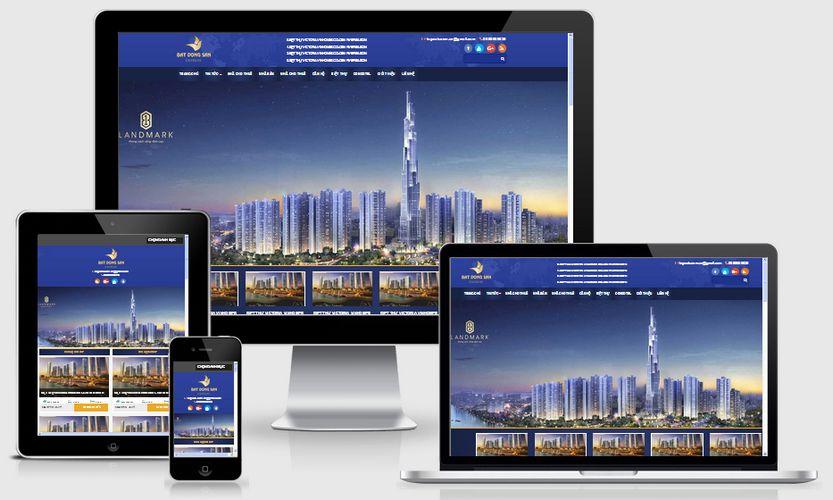 Fullcode website bất động sản FC089 1