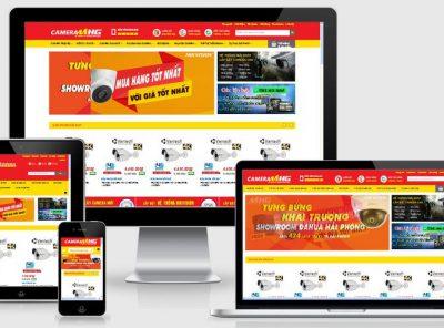 Fullcode website bán hàng Camera FC090 7