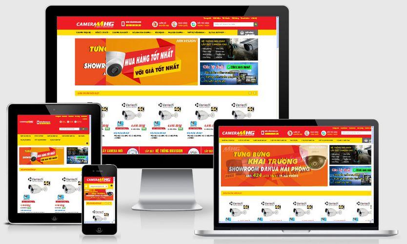 Fullcode website bán hàng Camera FC090 1