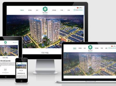 Fullcode website bất động sản FC119 29